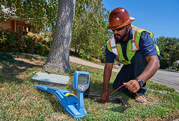 Ground penetrating radar utility locating